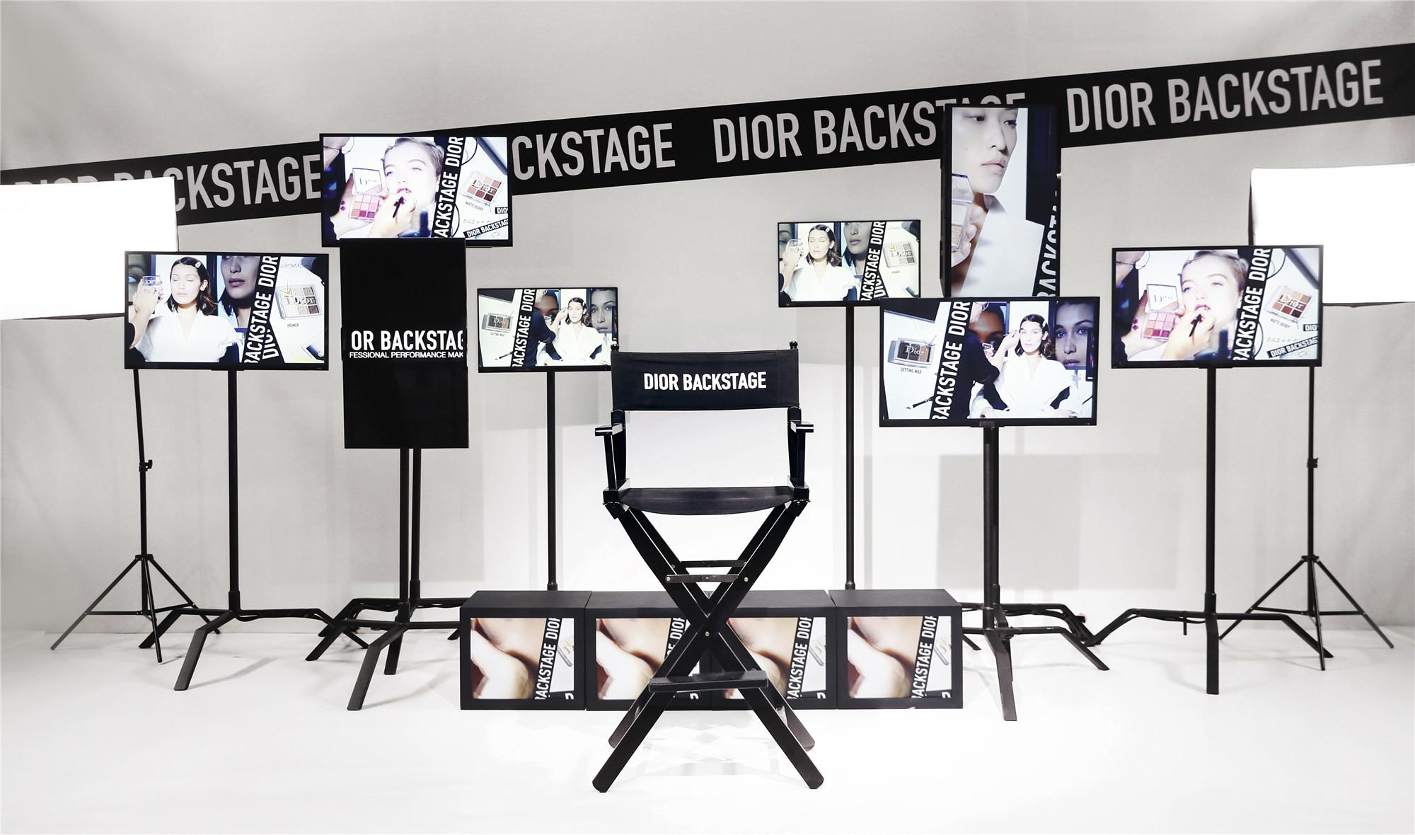Dior迪奥后台彩妆成都盛大发布